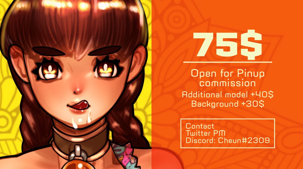 Commission open :)