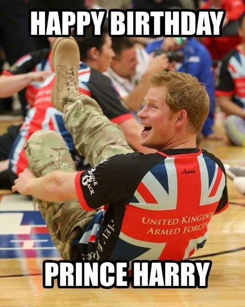 A very happy 35th birthday today to Prince Harry the man