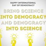 Image for the Tweet beginning: HAPPY INTERNATIONAL DAY OF DEMOCRACY We