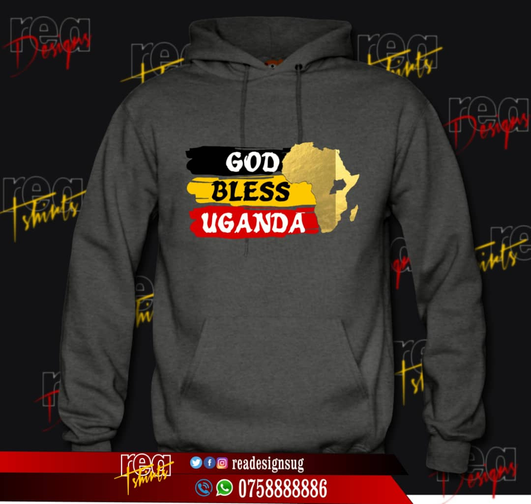 Hey there. Support these amazing works by one of our own @readesignsug.   The T-shirts go for 25k or 30k (depending on number of tshirts and artwork size) then 55k for the jumpers and hoodies. Contact him @0758888886  NB: U RECEIVE FREE SHADES ON EVERY HOODIE/JUMPER  <br>http://pic.twitter.com/5unCD1yX8v