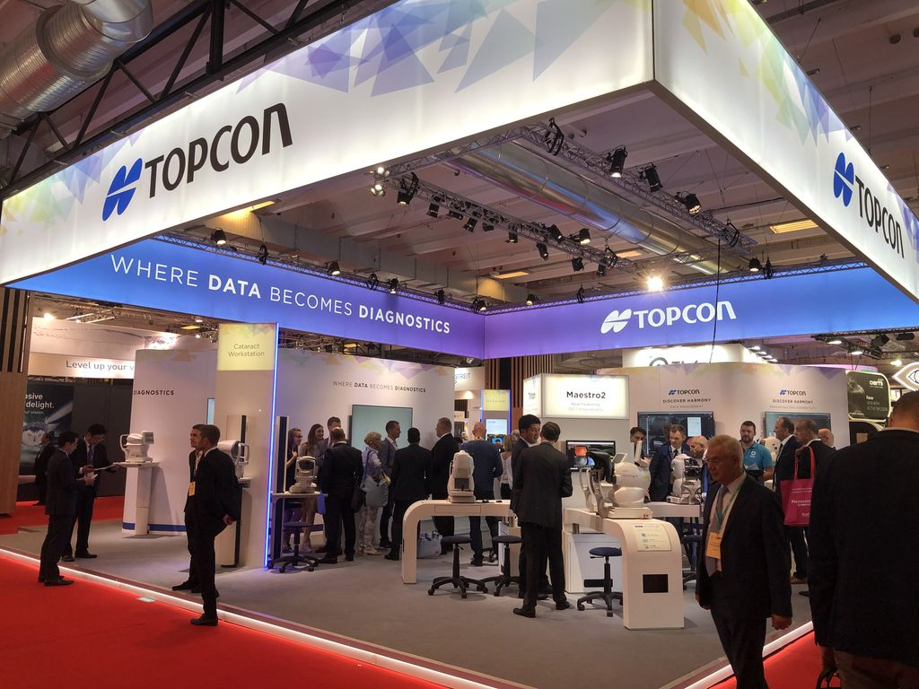 The second day of the  ESCRS is on! Stop by the #Topcon booth B109 to discover #wheredatabecomesdiagnostics #datamanagement #discoverharmony #telemedicine #artificialintelligence #escrs19 <br>http://pic.twitter.com/Vh7EEFMDbr