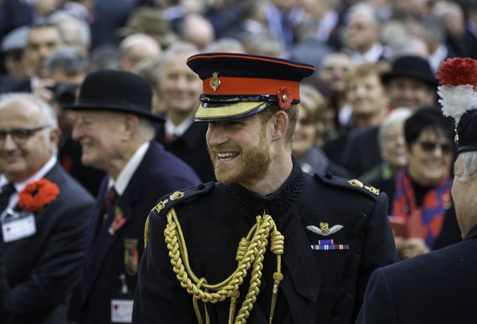 Happy 35th Birthday to His Royal Highness Prince Harry,  The Duke of Sussex.