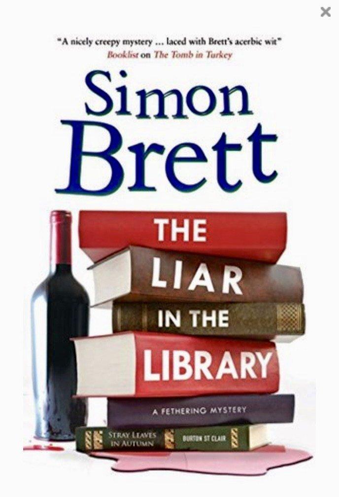 THE LIAR IN THE LIBRARY BY SIMON BRETT- BOOKREVIEW  https:// karensworld-writer.co.uk/the-liar-in-th e-library-by-simon-brett-book-review/  … <br>http://pic.twitter.com/DRIKQxBzLM