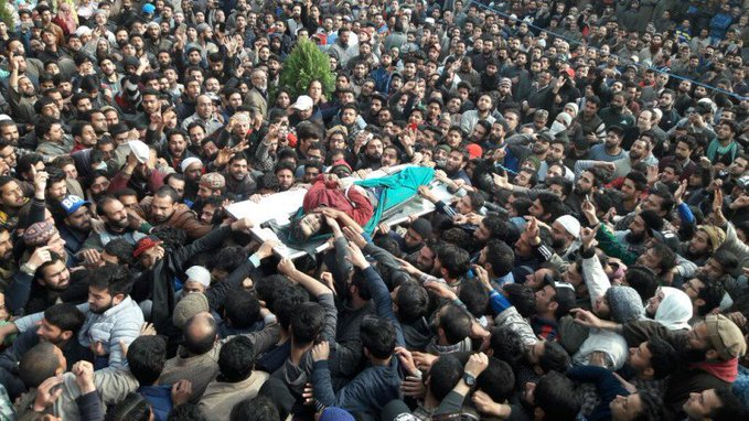 A Kashmiri Said : We Offer Prayer 6 Times a day  Fajr , Zuhr , Asr , Maghrib , Isha And Namaz-e-Janazah  His Words Gives A Painful Message To Whole Muslim Ummah. #BalochistanStands4Kashmir<br>http://pic.twitter.com/RCWtsvyoHH
