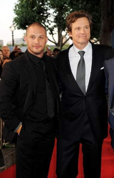 COLIN FIRTH ADDICTED HAPPY BIRTHDAY TOM HARDY ^^