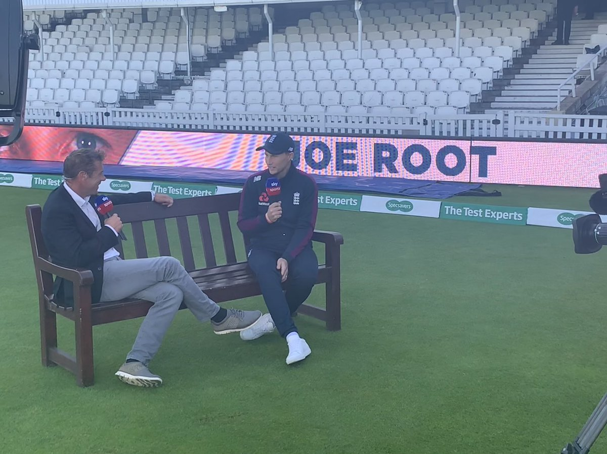 Can England 🏴󠁧󠁢󠁥󠁮󠁧󠁿 wrap up a win in the fifth #Ashes Test to square the series? We hear from the captain @root66 with @WardyShorts ahead of day four at The Oval... Watch #ENGvAUS from 10.30am on Sky Sports The Ashes 🏺📺🕥