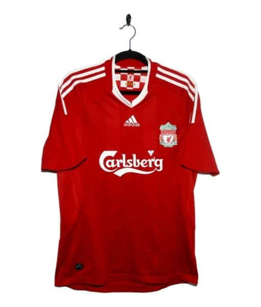 Checkout this 2008-10 Liverpool Home Shirt (M)! Buy Now - tinyurl.com/y23y9maa #2008-10 #Adidas #Carlsberg #Liverpool