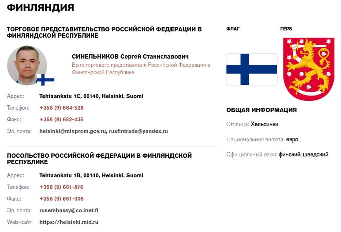 Торговые представители РФ  за рубежом