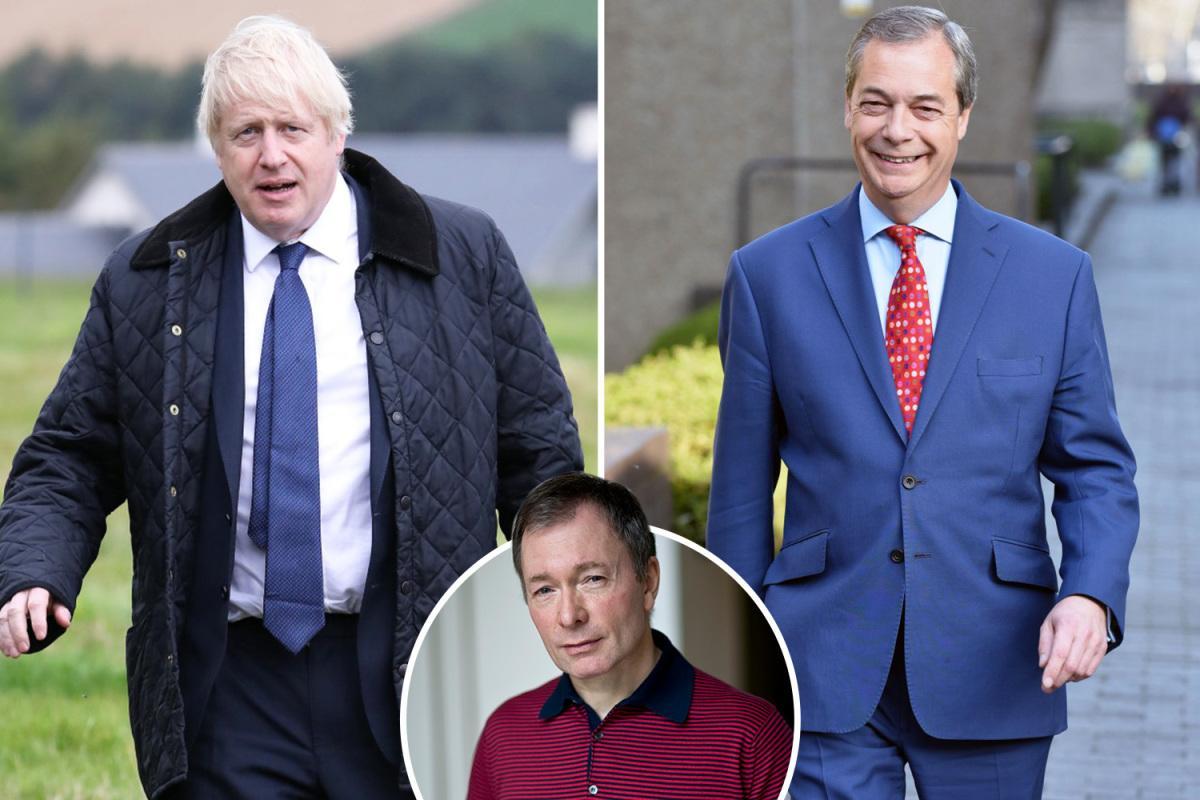 Boris Johnsons Nigel Farage veto may give Jeremy Corbyn the keys to No10 thesun.co.uk/news/9930565/b…