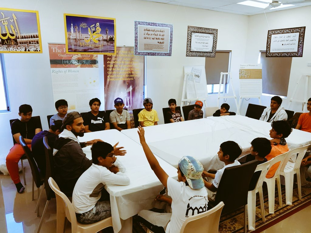 Sports Day at the Bait-ul-Masroor Mosque held for Majlis Atfal-ul-Ahmadiyya Logan, followed by a general meeting #reformationoftheyouth<br>http://pic.twitter.com/YzZ94A4XpG