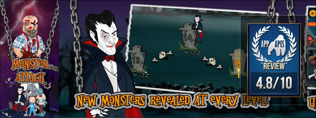Monster Attack App Apes Review.  http:// app-apes.com/?p=5012&utm_so urce=twitter&utm_medium=social&utm_campaign=AppApes  …  #gamedev #indiedev <br>http://pic.twitter.com/NwzWldY5be