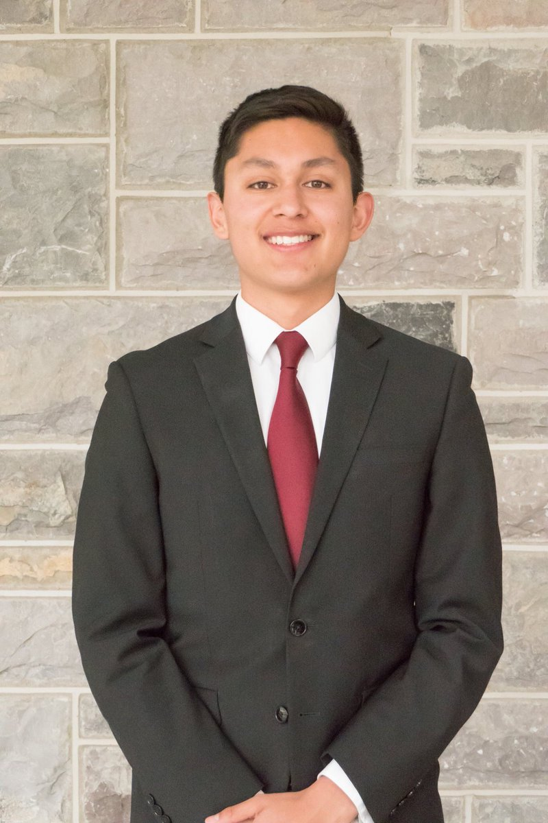 """Today's Spotlight goes to our Outreach team! Meet our Outreach Director, Ben Galdo! Ben is senior from McLean, VA majoring in Business Information Technology. His favorite quote is:  """"Todo es perfecto en el tiempo de Dios."""" <br>http://pic.twitter.com/D8W8BQuB4H"""