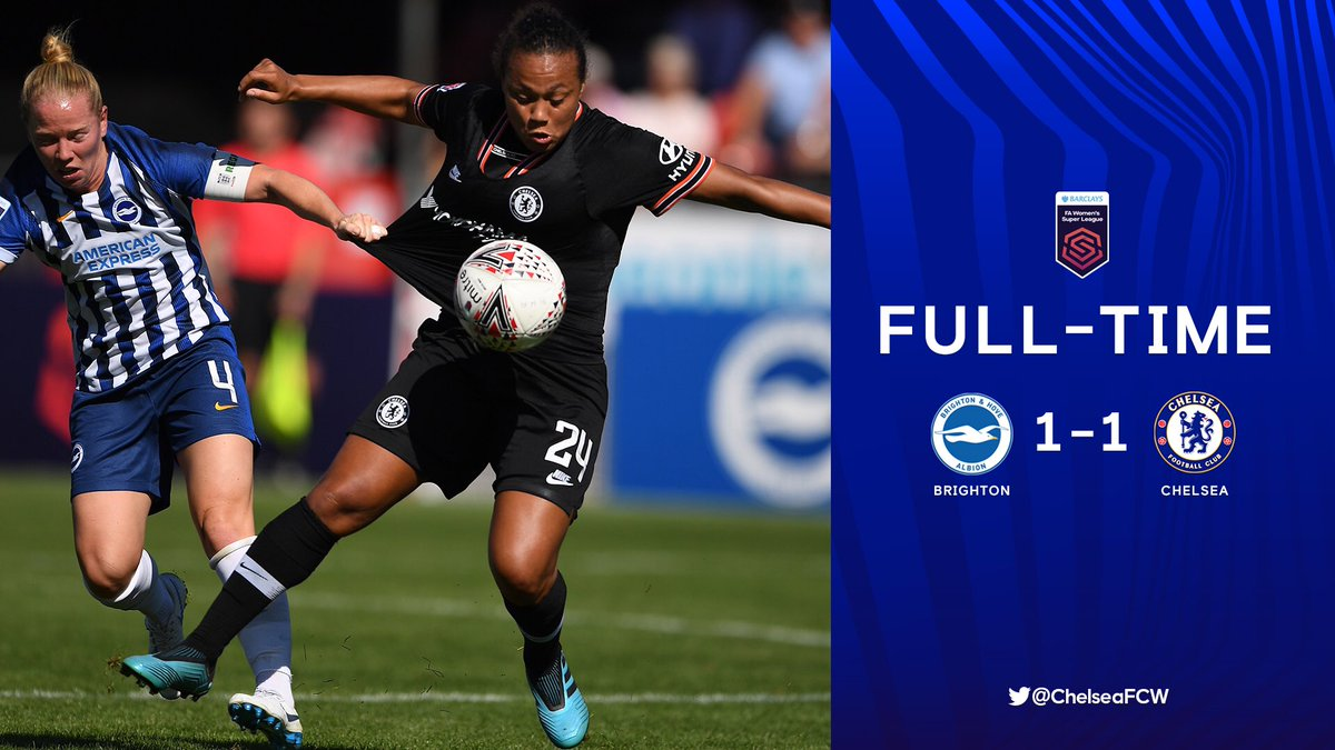 The Blues have to settle for a point in Sussex. #CFCW