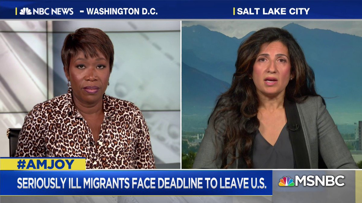 .@MahsaKEsq describes the types of patients she says are impacted by the #Trump administration ending medical deferment for immigrants. #AMJoy https://t.co/jwscLXWm2y