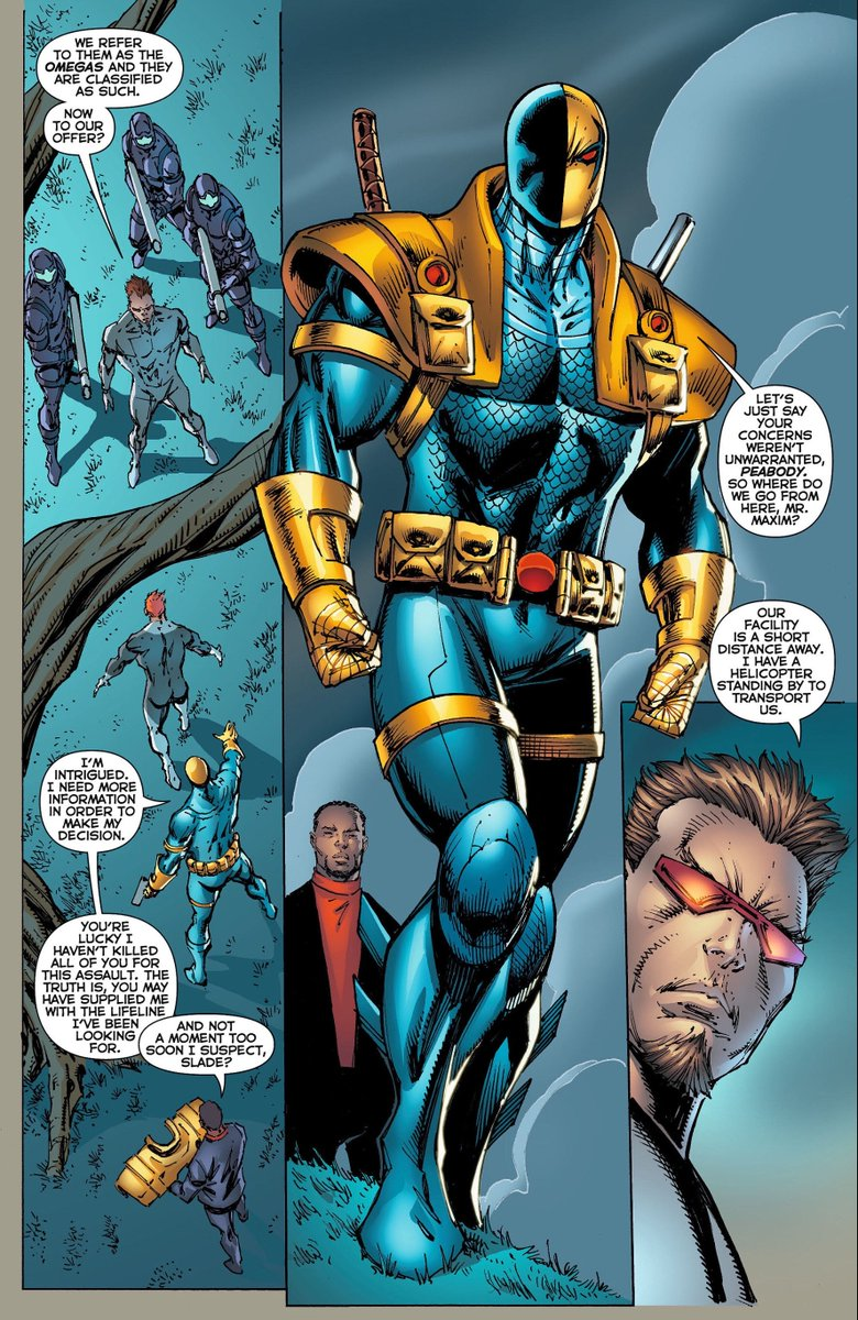 Robliefeld On Twitter Deathstroke Rob Liefeld 2012 Marvel universe by rob liefeld omnibus. deathstroke rob liefeld 2012