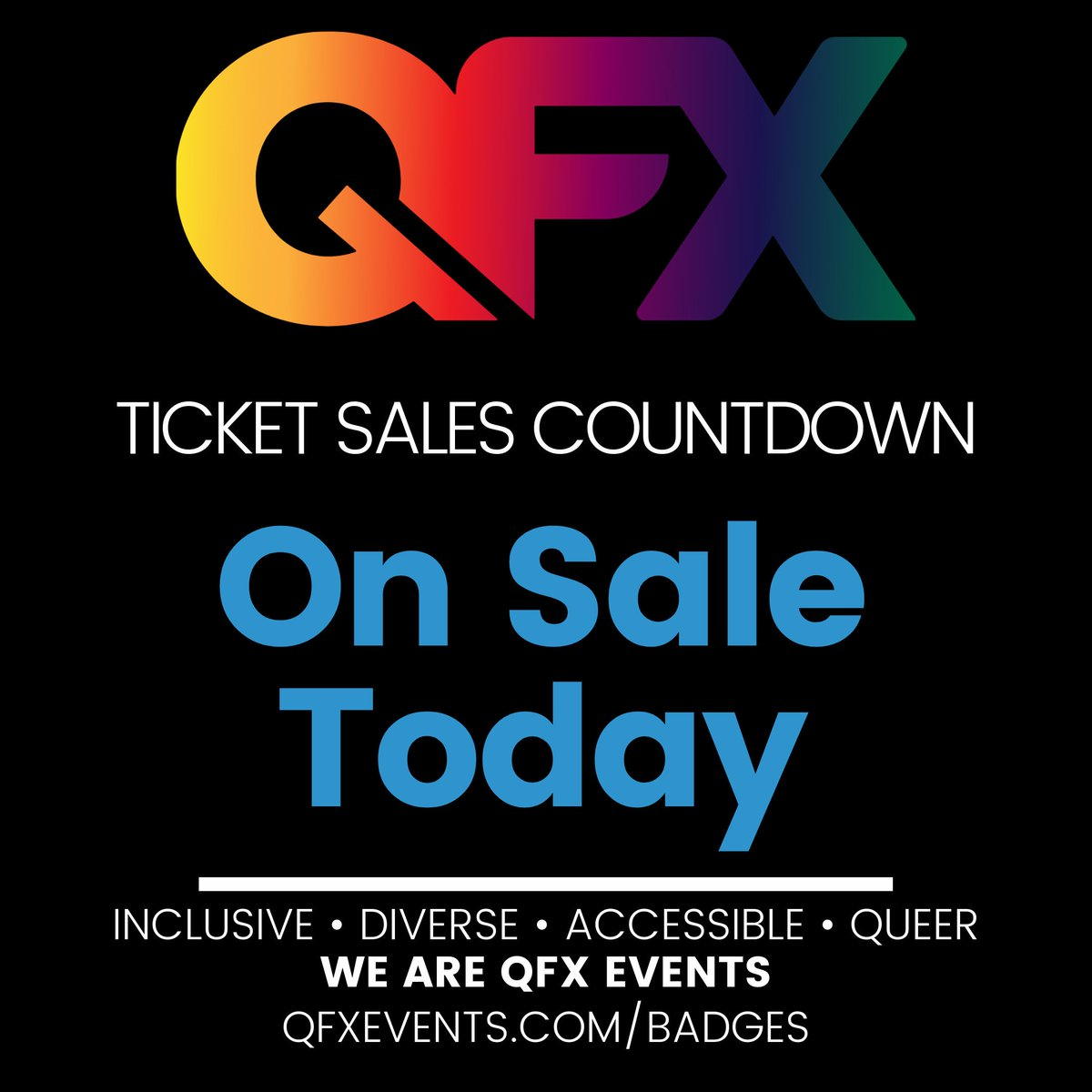 """1Pm Pst To Cst qfx events on twitter: """"today is the day! get ready to grab"""
