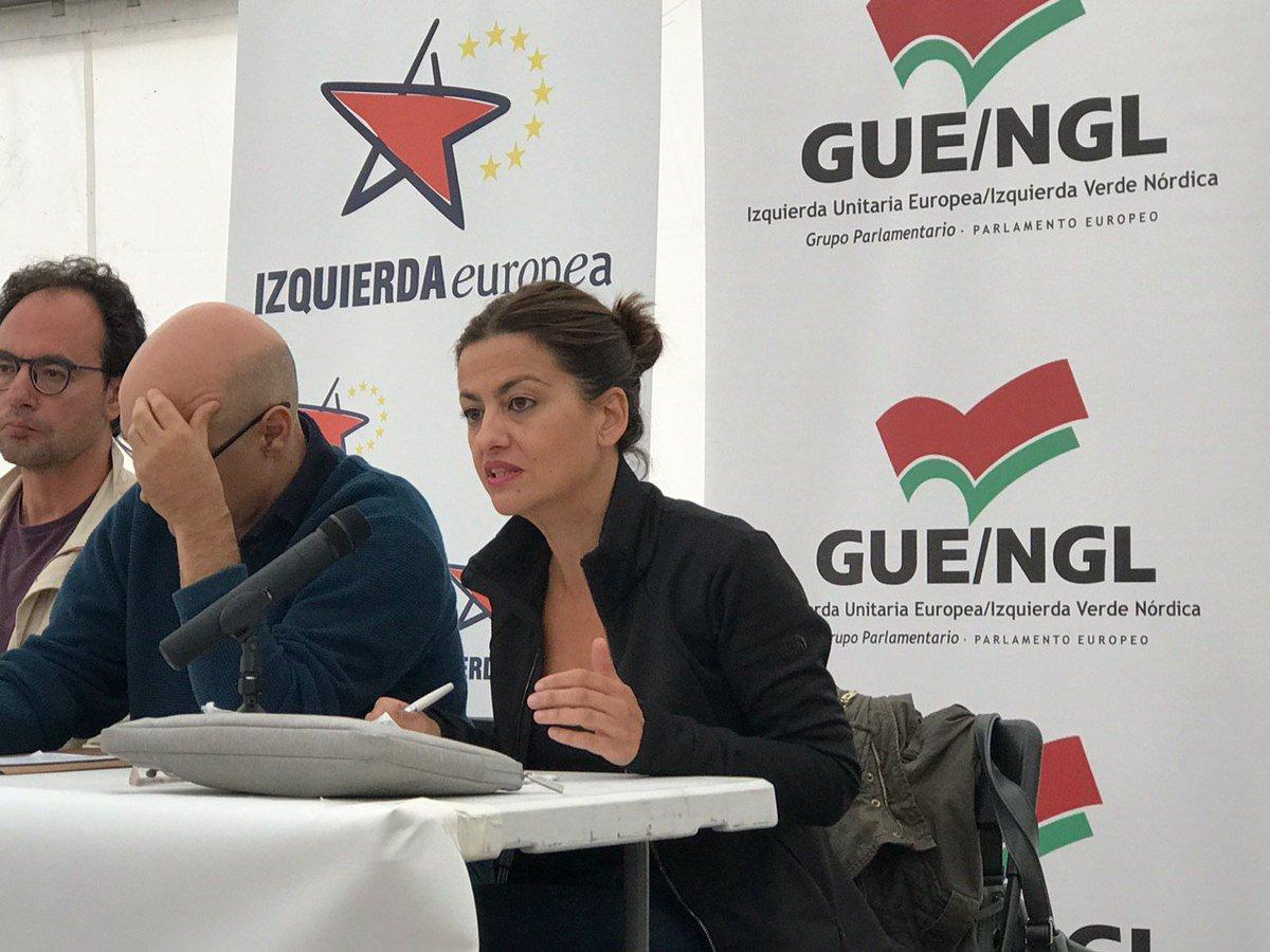 @sirarego @EvaGSempere @santiagolvarez @Marga_Ferre @FuhemEcosocial @fow_berlin 💬 Frente a la lógica de la competición del capitalismo nosotras planteamos la lógica de la cooperación y los cuidados 🗣 @sirarego #EscuelaInviernoIU2019