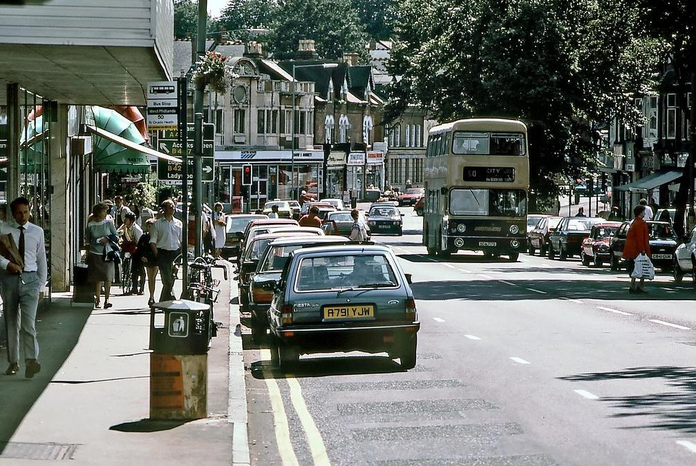 Moseley 1985  © David Rostance <br>http://pic.twitter.com/hSGpR4QlfW