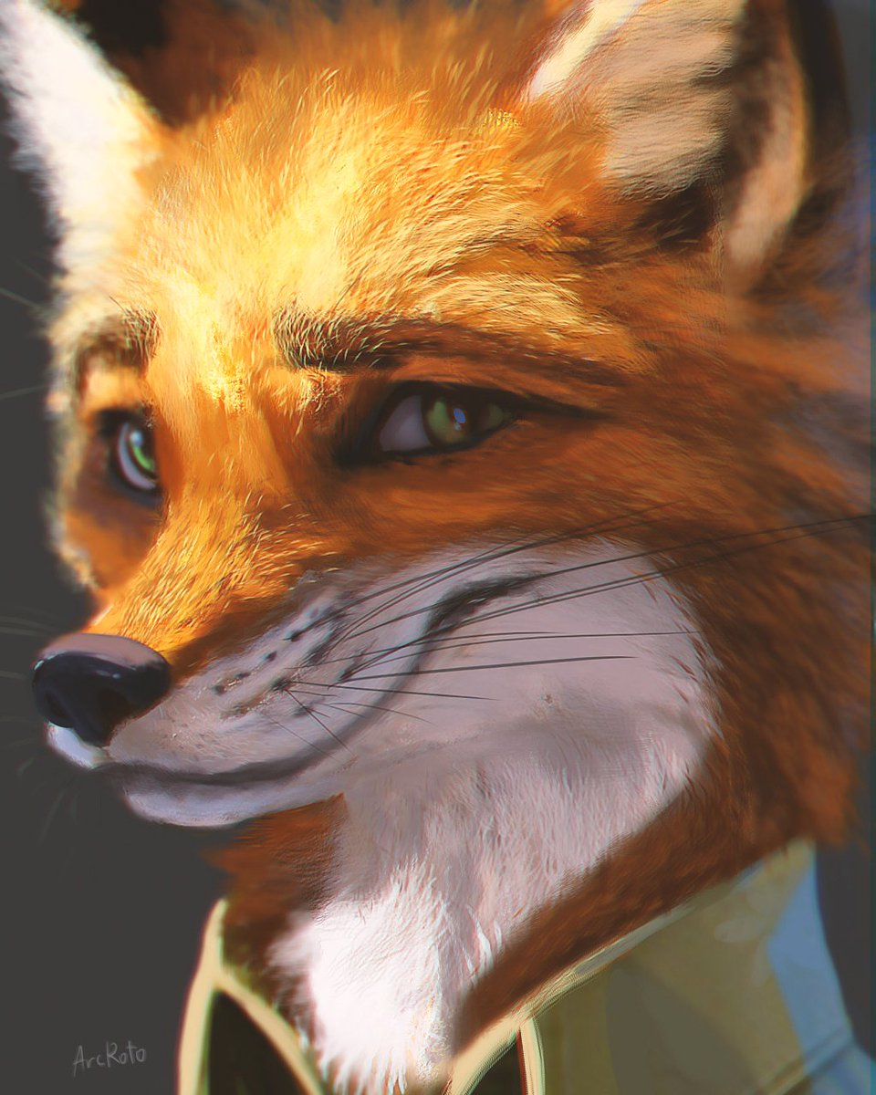 This portrait I made of Nick Wilde a while back has been the most well received art piece I've ever done for some reason. I remember painting this for like 3 days using many brushes until I was happy with it. I'm so glad and thankful to all the poeple who like it.  <br>http://pic.twitter.com/u46MTLYIqH