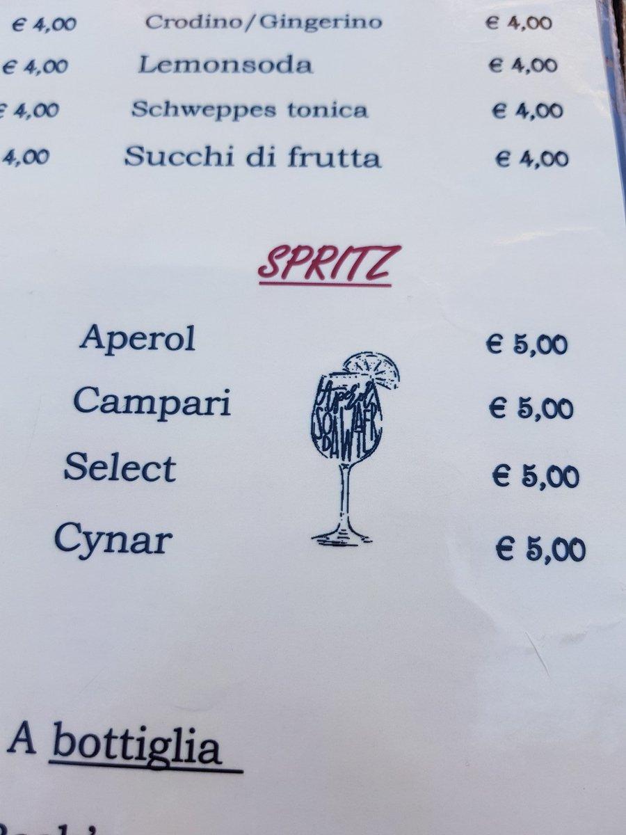 Lo spritz con il Cynar  <br>http://pic.twitter.com/qcczFqJNjy
