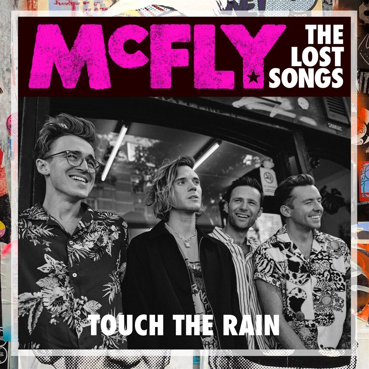 We thought we'd kick The Lost Songs off with a double release, TOUCH THE RAIN and RED will be available to stream from 5pm today.  #mcfly #thelostsongs<br>http://pic.twitter.com/6QV0ZpQOlz