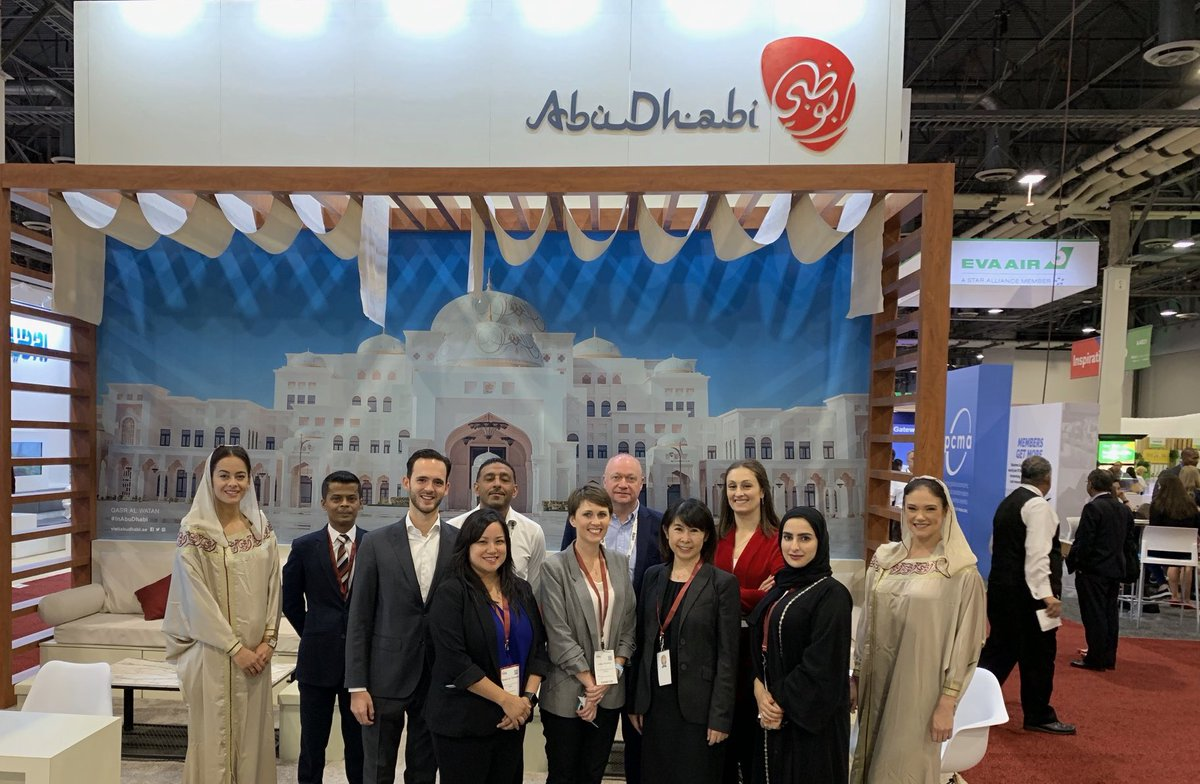 "#ADNEC took part in ""IMEX America 2019"" (@IMEX_Group) to strengthen its international ties and forge new partnerships with top association clients from the global conference and exhibition industry, as well as promoting #AbuDhabi as a leading business tourism destination<br>http://pic.twitter.com/hejdDO9PhU"