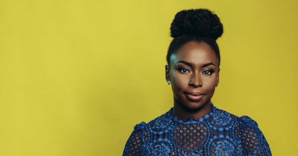 """""""Of course I am not worried about intimidating men. The type of man who will be intimidated by me is exactly the type of man I have no interest in.""""  Nigerian writer, Chimamanda Ngozi Adichie was born #OnThisDay in 1977 #ReadMoreWomen<br>http://pic.twitter.com/lv9y2acxcz"""