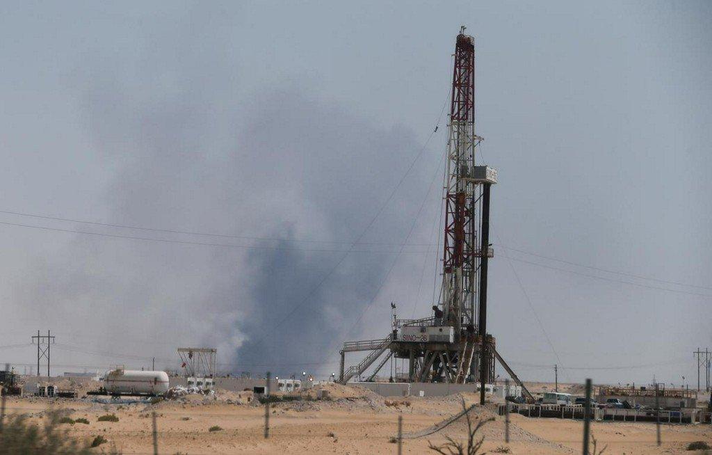 Saudi, Gulf stocks fall after attacks on Aramco oil plants  https://www. reuters.com/article/us-sau di-aramco-markets-idUSKBN1W0056?utm_campaign=trueAnthem%3A+Trending+Content&utm_content=5d7e2208aae53e00013af2d0&utm_medium=trueAnthem&utm_source=twitter  … <br>http://pic.twitter.com/kHrqHV4lu2