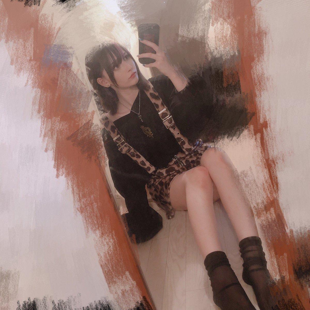 秋のお洋服可愛くて好きレオパードとパイソン
