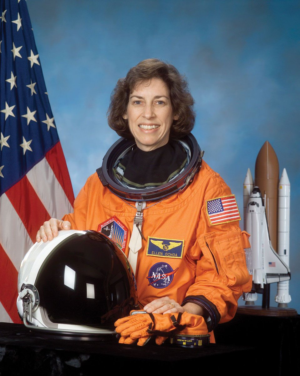 Today marks the first day of #HISPANICHERITAGEMONTH. We kick off the month honoring Dr. Ellen Ochoa, the first Latina astronaut and first Latina to go into space as a member of a NASA space mission. We salute you!