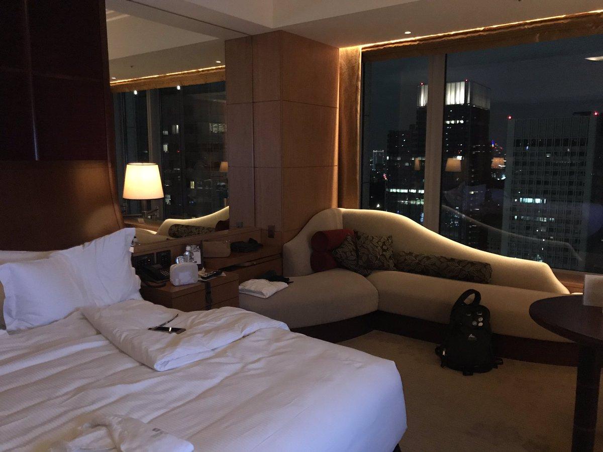 今日はシャングリ・ラ ホテル東京での宿泊依頼です