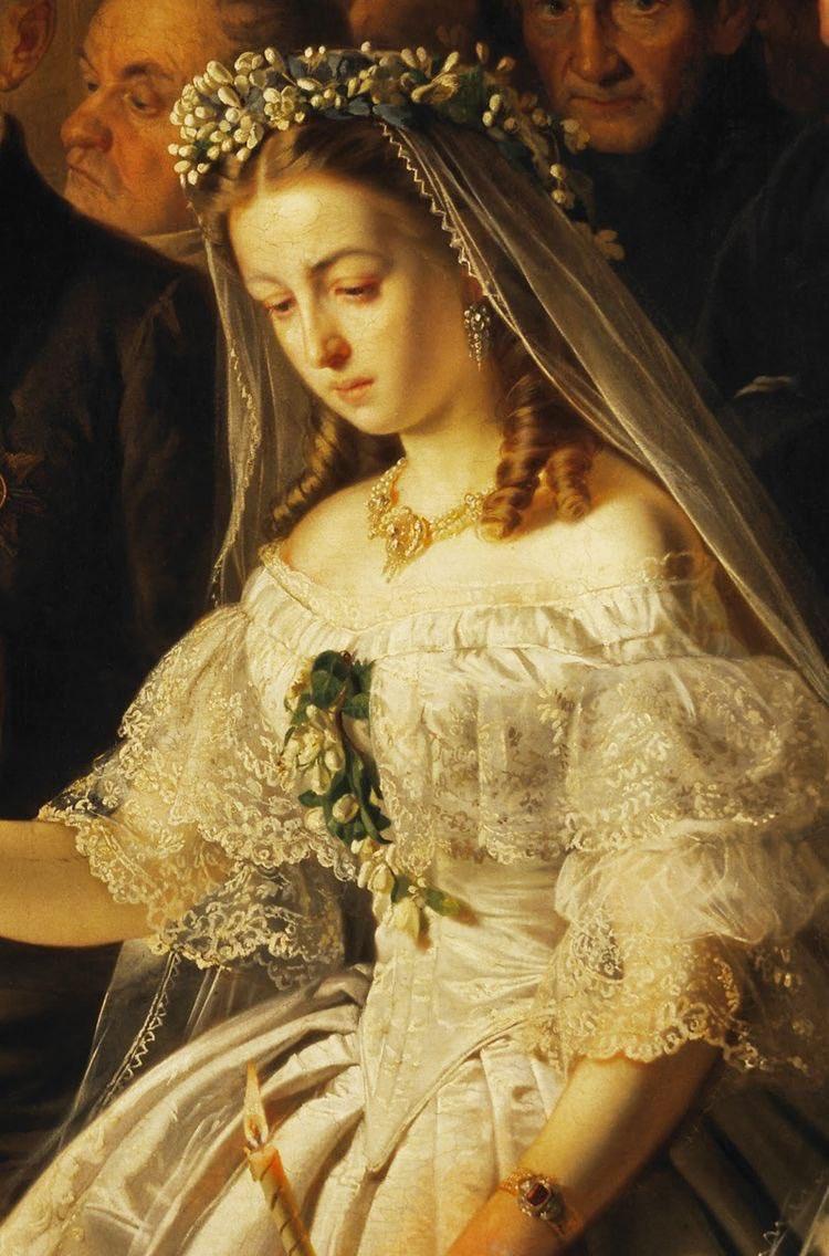 絵画の中の花嫁たち。結婚って本当に幸せ?