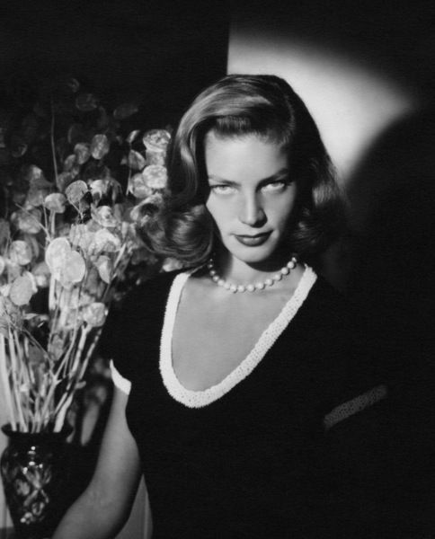THE LOOK: Lauren Bacall.