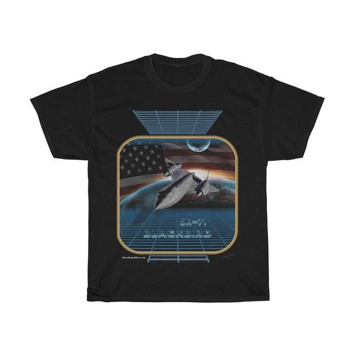 """Legendary FREE SHIPPING in USA!!! Legendary """"SR-71 Blackbird"""" Unisex Heavy Cotton Tee. Printed in USA. Designed By S. Michael. (See Desc. on Returns). Free Shipping.  https:// buff.ly/2I9lhUP     #clothes #KIDS #clothesaddict #apparel #fashion #MILITARY #militarywives #VETS #tshirts <br>http://pic.twitter.com/Hj5PDlqy9x"""