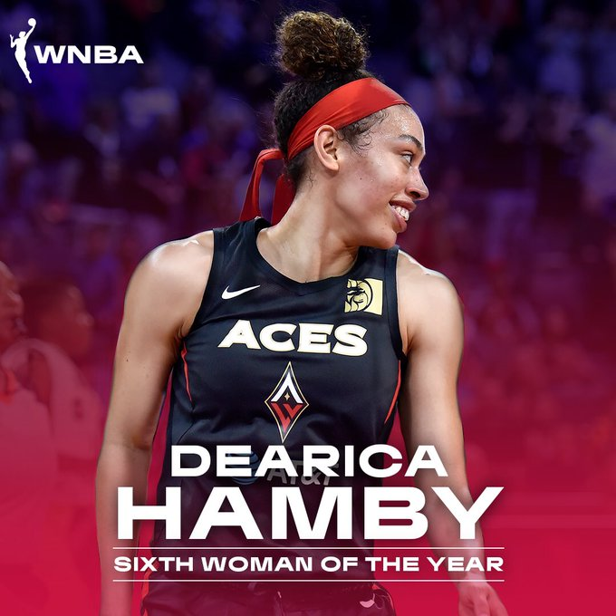🏀 Congratulations @dearicamarie on earning the 2019 #WNBA Sixth Woman of the Yea