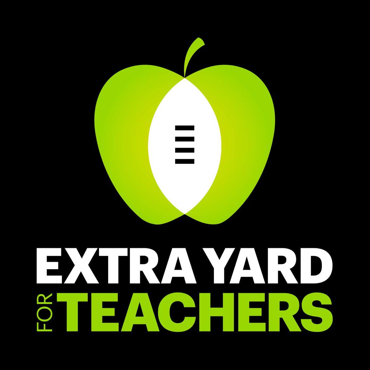 Join us in celebrating our educators during @CFPExtraYard week #ExtraYardWeek #outbackbowl