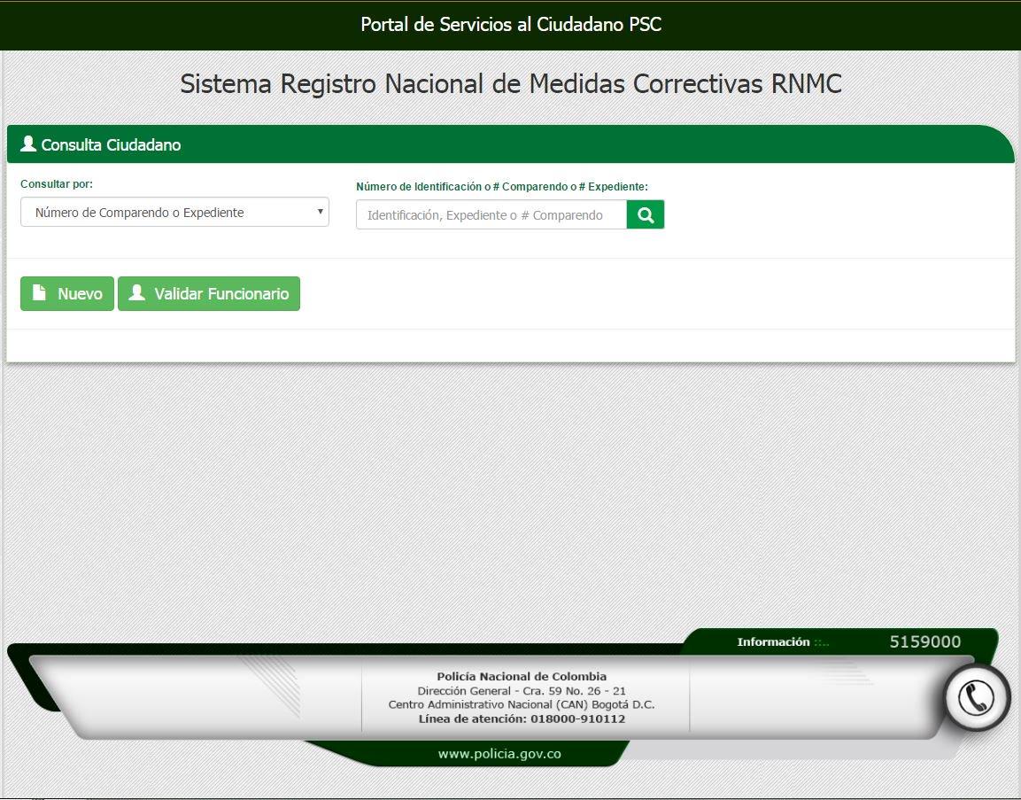 El sistema de #MedidasCorrectivas le permite consultar los comparendos por conductas contrarias a la convivencia. #CódigoDeConvivencia https://www.policia.gov.co/vinculos/portal-servicios-al-ciudadano…
