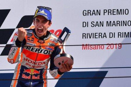 Menang Duel dengan Quartararo, Marquez Juara MotoGP San Marino https://medcom.id/s/8Ky5xmOK