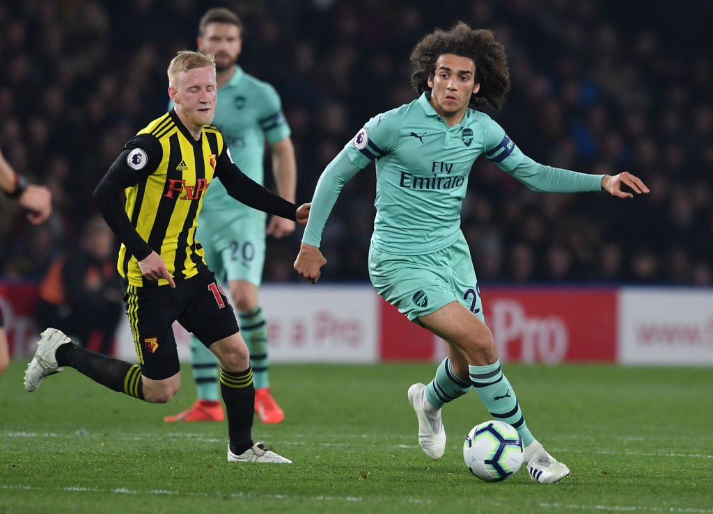 Delighted to report that Arsenal are actually wearing their red shirt for an away match at Vicarage Road - the tyranny of the away kits is over for now! <br>http://pic.twitter.com/X4amQQ4UiB