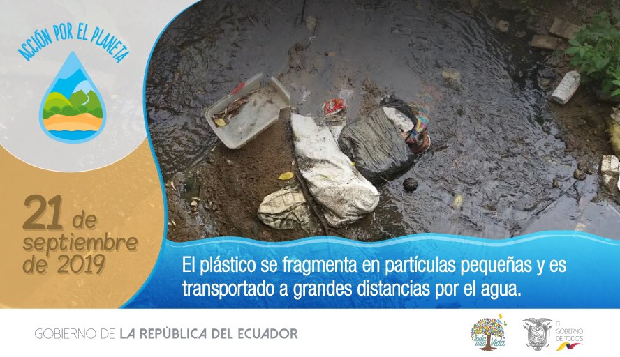 RT @Educacion_Ec: La fauna marina confunde el plástico con alimento. Protejamos su hábitat.   #AcciónPorElPlaneta https://t.co/8UBO9q8gUS