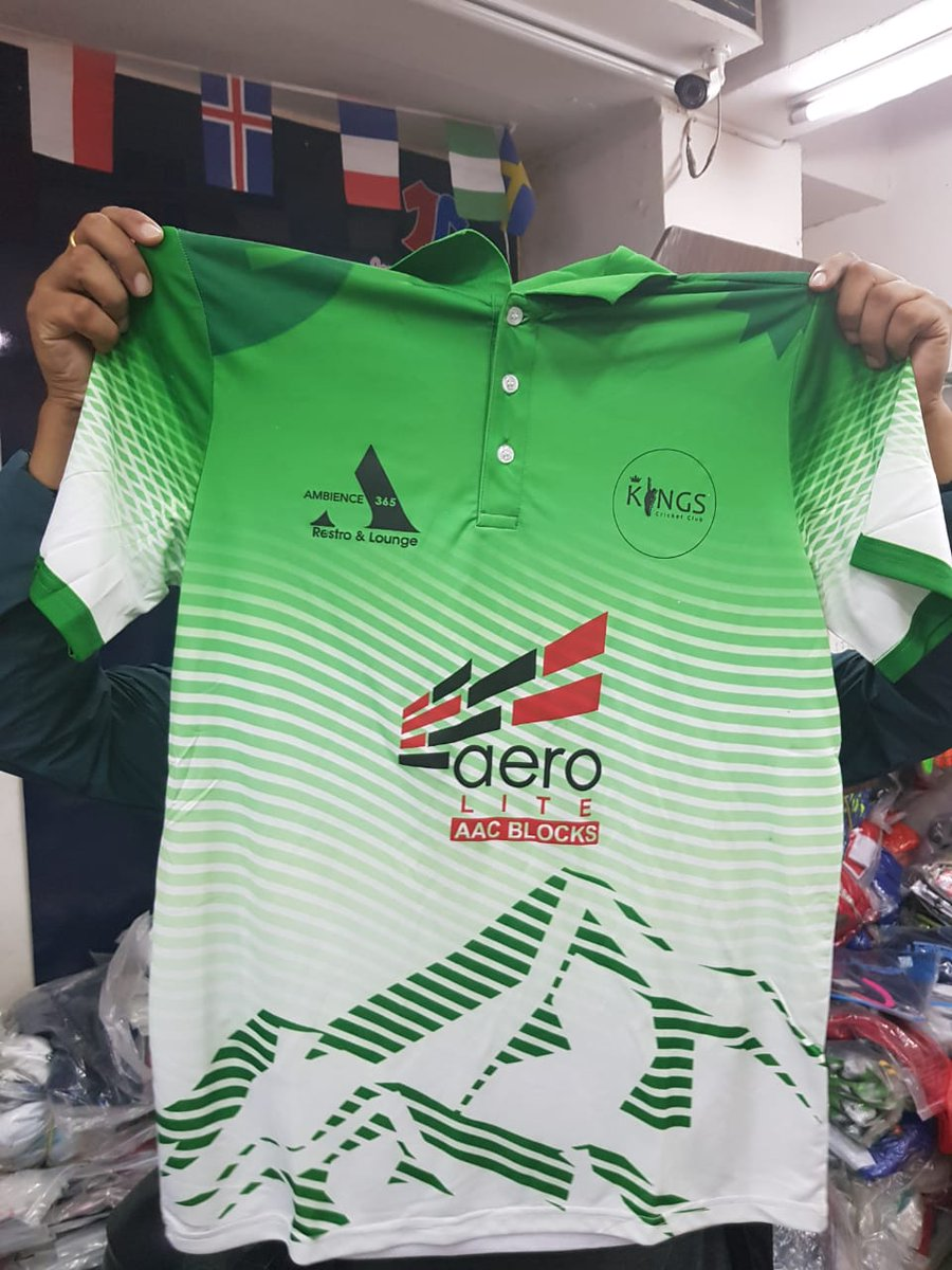 This is a double treat for a #Nepali #ProteaFire fan. What more can you ask for when you get a .@OfficialCSA colored .@CricketNep jersey and represent .@KingsCricketNP at @KathmanduKings #InvitationCup