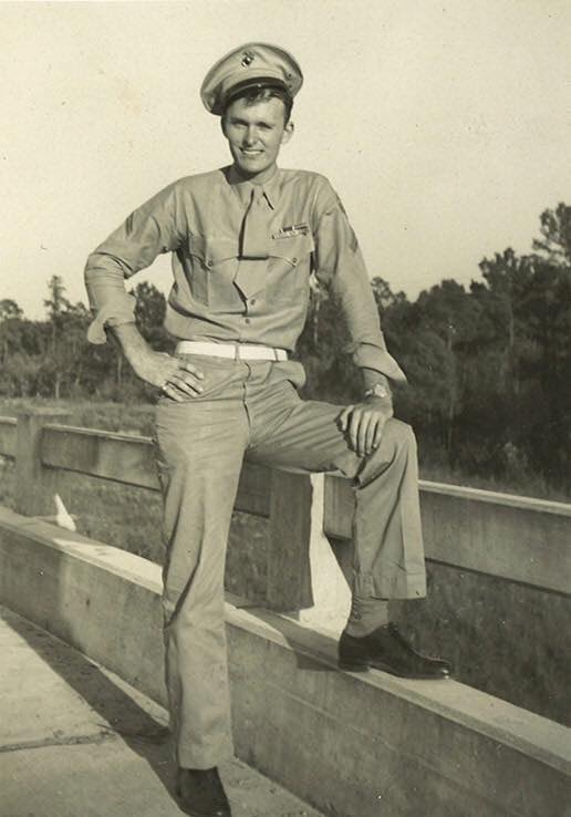 Thinking about a Marine named Braswell Deen today on this 75th Anniversary of Peleliu. He was K/3/1. I thank God he's still with us today so that he may share his memories of that fateful day. I have so much #Respect him and his Generation! Thank you @deen_jr  #USMC #PELELIU<br>http://pic.twitter.com/jUVtomwONv