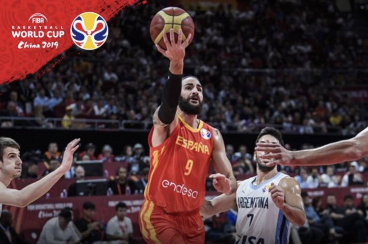 Spain beats Argentina 95-75 to win FIBA World Cup