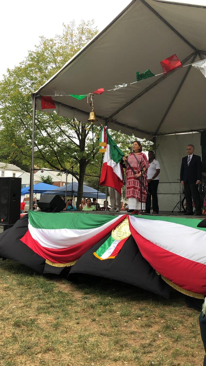 All over the #USA Mexican communities, the Embassy and the 50 Mexican Consulates are celebrating #MexicanIndependenceDay. We are a great nation, proud of our people, our culture, our endurance. #VivaMexico<br>http://pic.twitter.com/GGqBCqkksN
