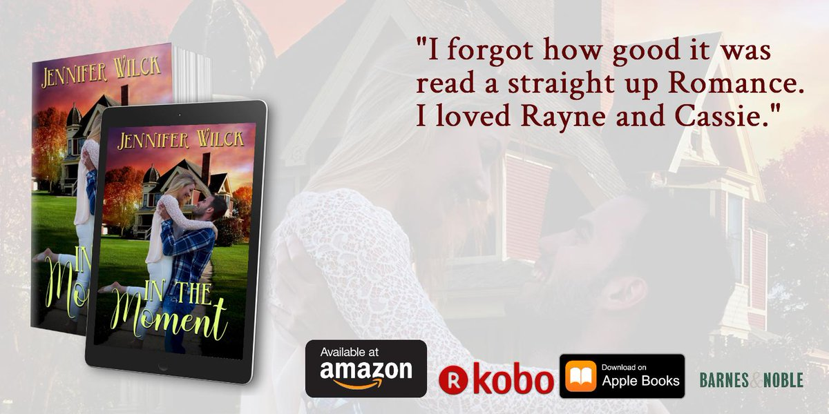 Last week of the 99-cent sale. Don't miss out.  https://www. jenniferwilck.com/InTheMoment.ht ml  …  #wrpbks #readromance #99cents #kindlebooks #Sale #happilyeverafter <br>http://pic.twitter.com/REylAGBbAM