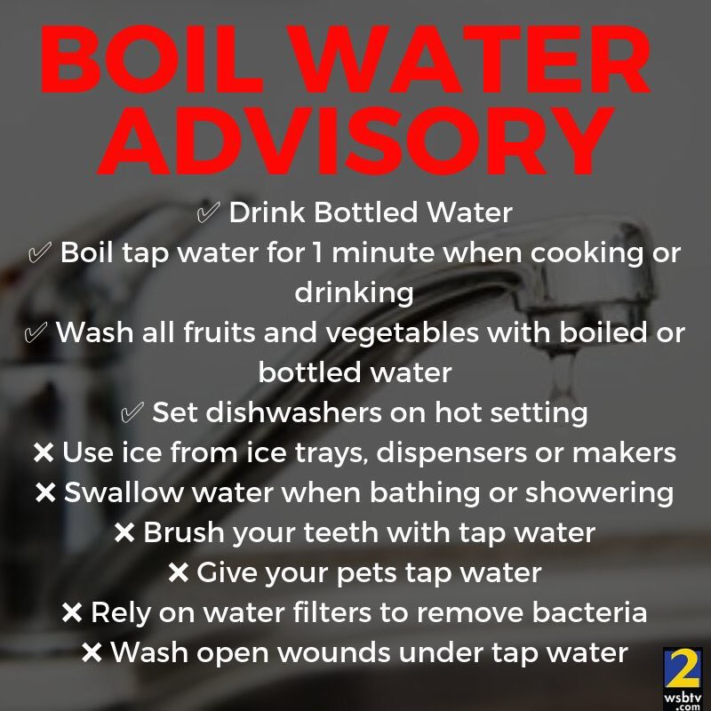 Important info on DeKalb County's boil water advisory. Help share this information with your friends!
