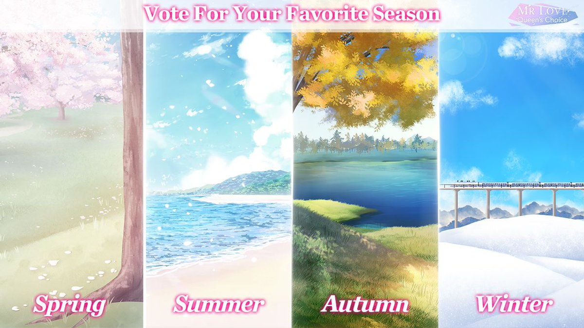 #Giveaway Gem*30, Stamina*30, Gold*2000  What's your favorite season & why?  Hope that Mr Love is not only summer to your heart, but also the full four seasons   When comments/likes on FB/IG/Twitter hit 777 in total, we'll give away the redeem code for gifts!  #MrLoveMobile<br>http://pic.twitter.com/dfBoYSov4y