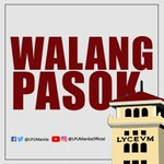 Image for the Tweet beginning: #WalangPasok Following the announcement of