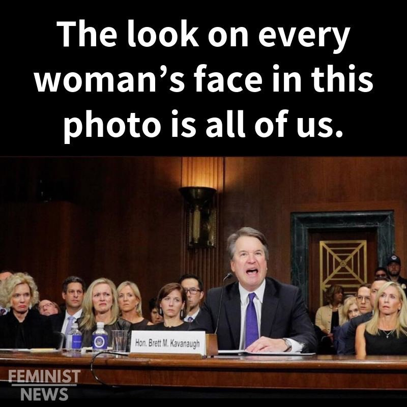 @girlsreallyrule She does and so do these other women #KavanaughLied #SundayThoughts #ImpeachKavanaugh #DumpTrump