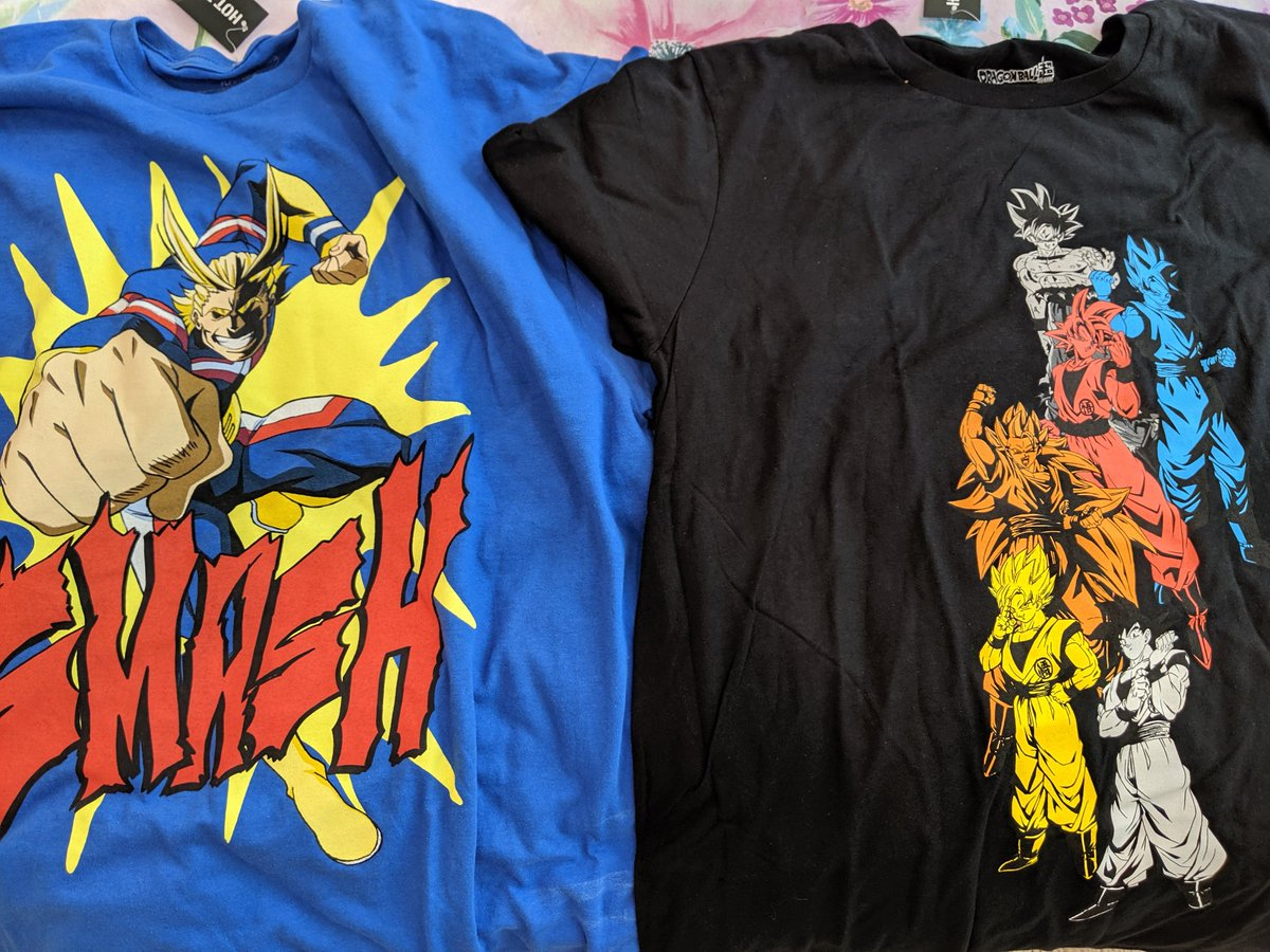 Picked up two new shirts. They're sick.